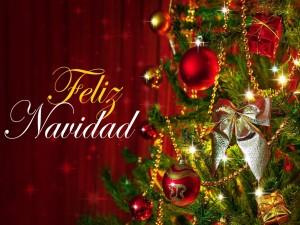 Postal: Feliz Navidad