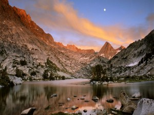 Postal: Evolution Lake (California)