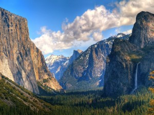 Postal: Valle de Yosemite (California)