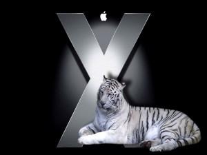 El tigre blanco de Mac OS X