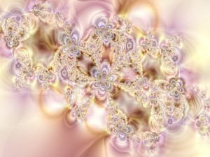Fractales doradas