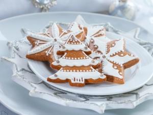 Postal: Galletas de Navidad