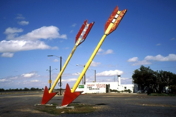 Gasolinera Twin Arrows (Ruta 66, Arizona)