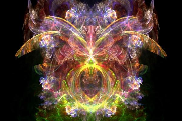 Florituras de luz y color