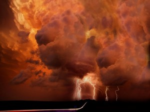 Tormenta infernal
