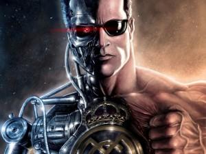 Postal: Terminator del Real Madrid, mitad hombre y mitad máquina
