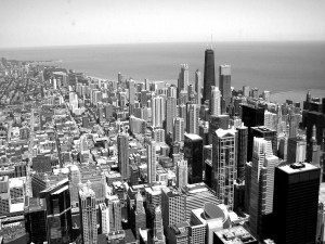 Postal: Vistas de Chicago desde la Torre Sears