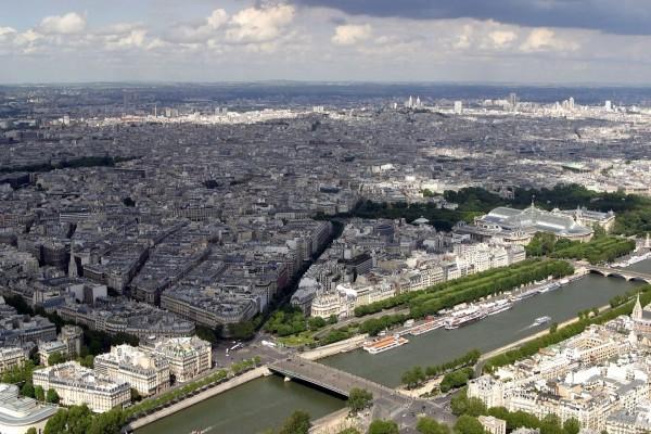 Vista de París desde la Torre Eiffel