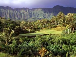 Hoyo 3 en Luana Hills, Oahu, Hawai