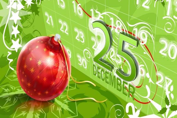 25 de Diciembre, día de Navidad