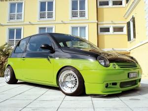 Postal: Volkswagen Lupo (SEAT Arosa) tuneado