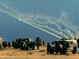 Postal: Misiles tierra-aire (Guerra de Irak)