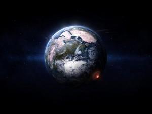 Postal: Grandes desastres naturales en la Tierra