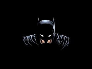 Postal: Batman en la oscuridad