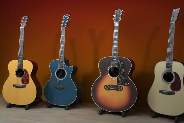 Colección de guitarras españolas