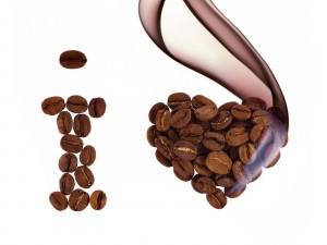 Postal: Me encanta el café