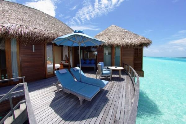 De vacaciones en las Islas Maldivas