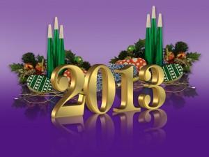 Fiesta para celebrar el 2013