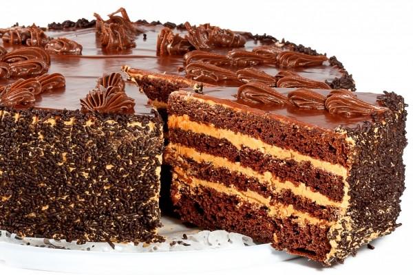 Espectacular tarta de chocolate