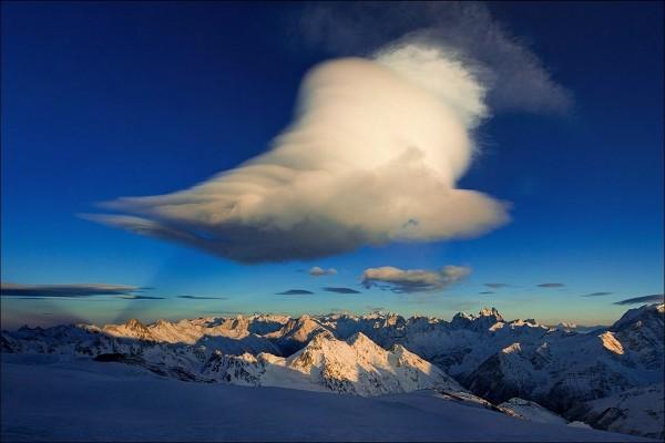 Una nube algodonosa