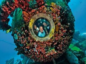 Una esfera habitable en el fondo del mar