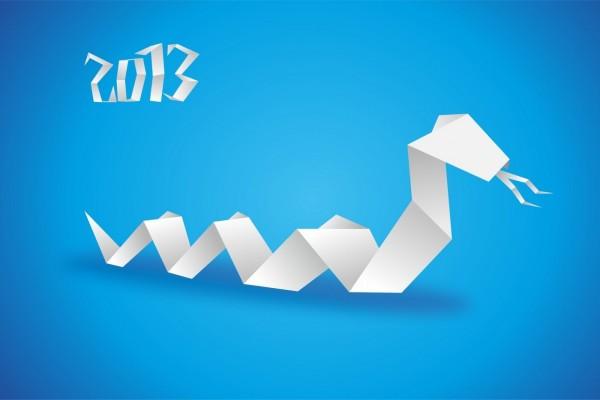 Año 2013 en papiroflexia
