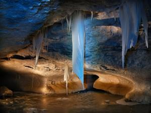 Caverna congelada