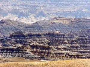 Cordillera de formas extrañas