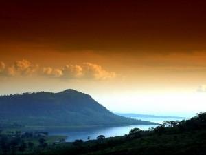 Postal: Lago africano