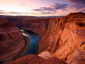 Espectaculares vistas del río Colorado y del Gran Cañón