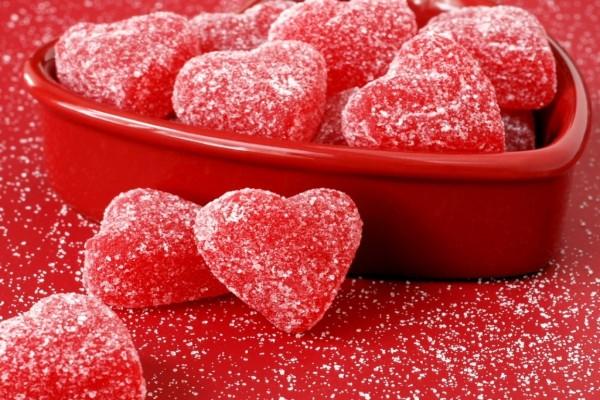 Gomitas en forma de corazón
