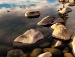 Piedras en el río