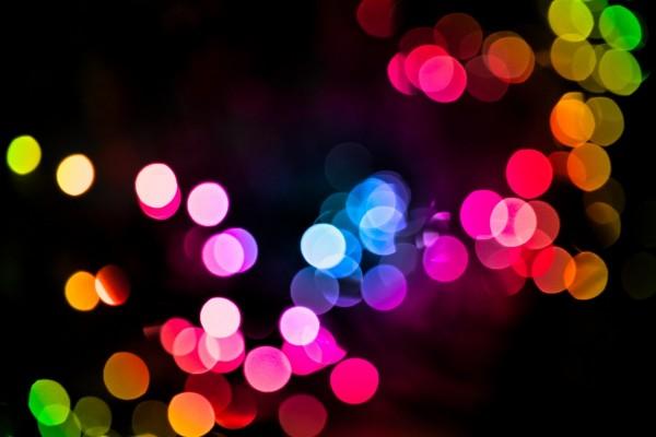 Luces de colores