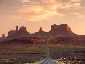 Carretera en el Condado de San Juan, Utah