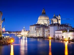 El Gran Canal de Venecia (Italia)