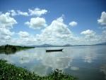 Un lago en el municipio de Jamay, en Jalisco (México)