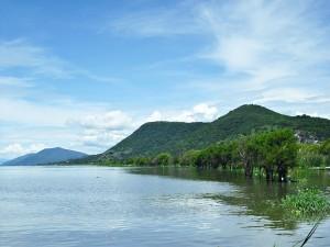 Postal: Lago de Chapala (Jalisco, México)