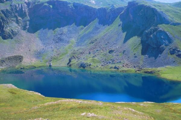 Ibon (o lago) de Sabocos, Pirineo de Huesca, Panticosa (España)