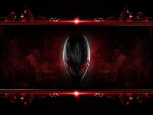 Alien rojo