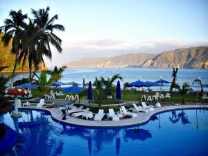 Piscina de un hotel en Jalisco, México