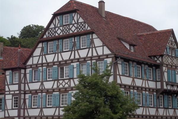 Una casa típica en Stuttgart, Alemania