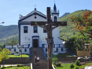 Capilla cristiana en Ilhabela (Sao Paulo, Brasil)