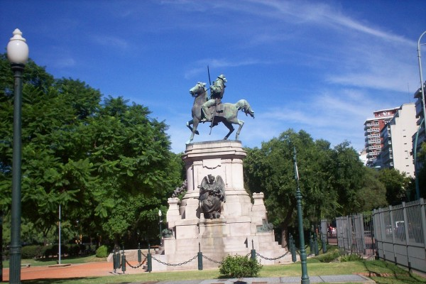Monumento a Giuseppe Garibaldi, Plaza Italia (Buenos Aires, Argentina)