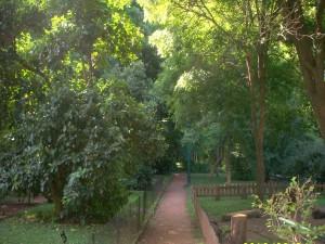Postal: El Jardín Botánico de Buenos Aires (Argentina)