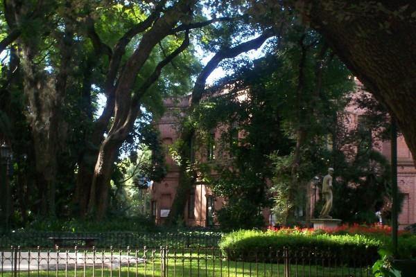 Museo Botánico en el Jardín Botánico de Buenos Aires (Argentina)
