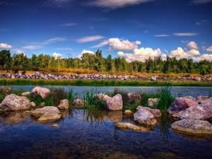 Gheraiesti Park, ciudad de Bacau, Rumanía