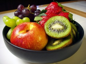 Cuenco con frutas