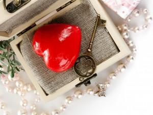 Postal: La llave de mi corazón