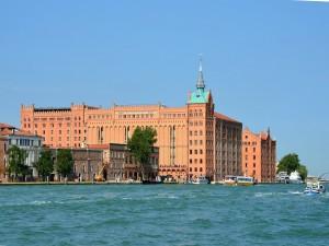 El hotel Hilton Molino Stucky (Venecia, Italia)