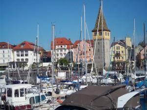 Puerto de Lindau (Baviera, Alemania)